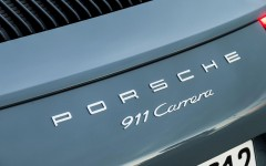 Porsche 911 Carrera 2015 Detail Exterior Badge