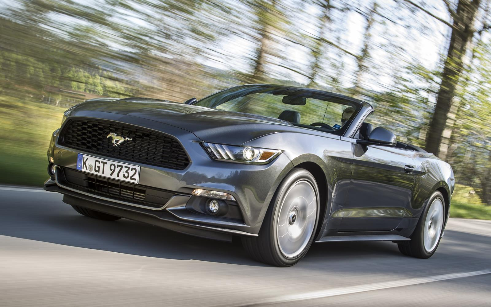Ford Mustang 2.3 EcoBoost Convertible 2015 08