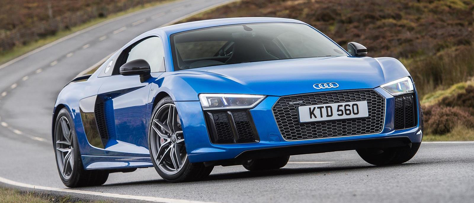 First drive audi r8 v10 plus front seat driver