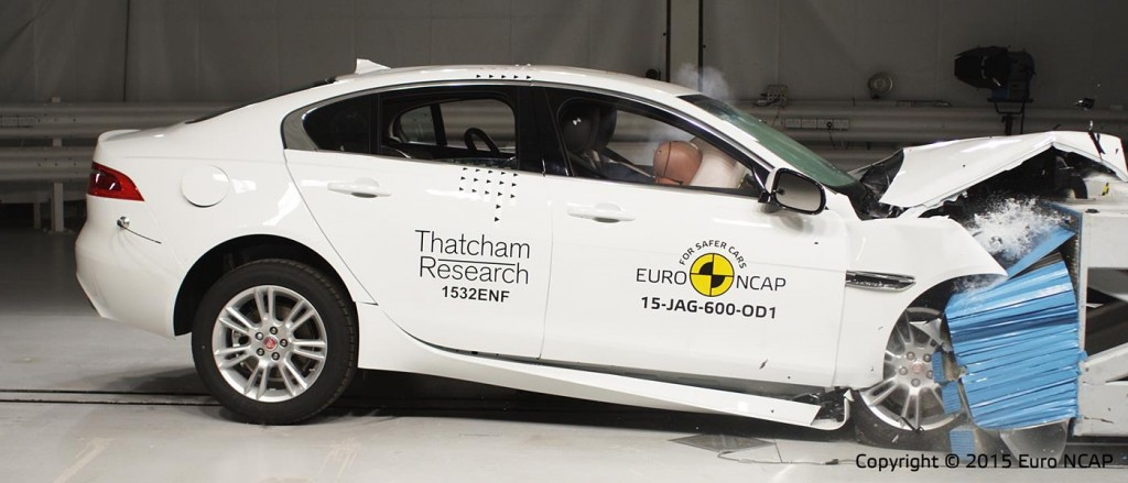 EuroNCAP Best of 2015 Jaguar XE
