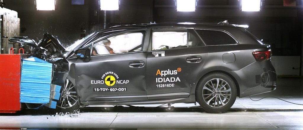 EuroNCAP Best of 2015 Toyota Avensis