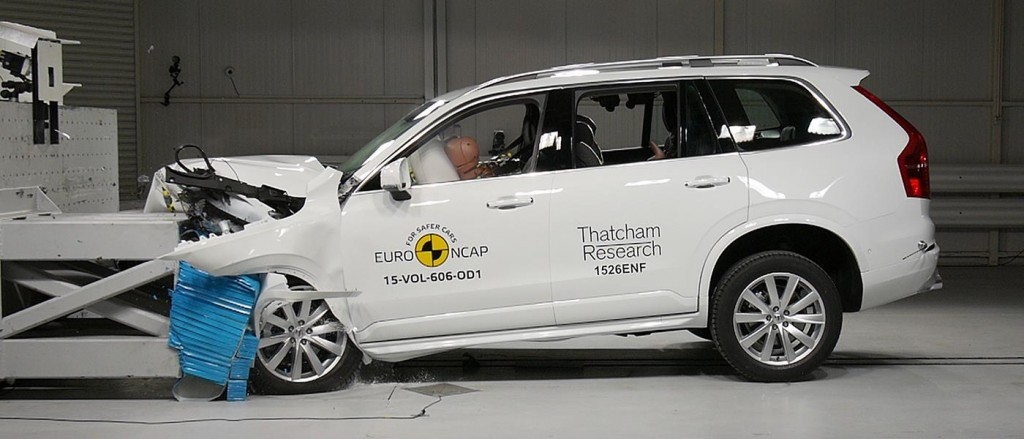 EuroNCAP Best of 2015 Volvo XC90