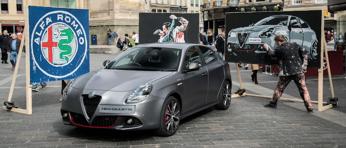 Alfa Romeo Stirs Up Passion In Newcastle With Video Front Seat