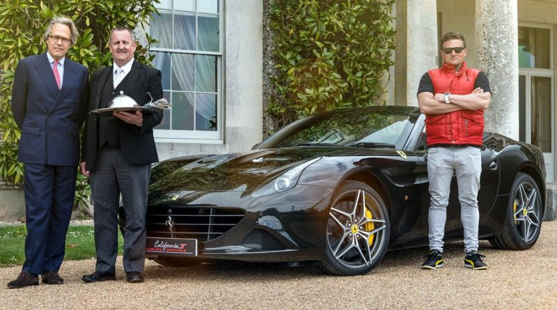 Ferrari's Special Delivery for Lord March
