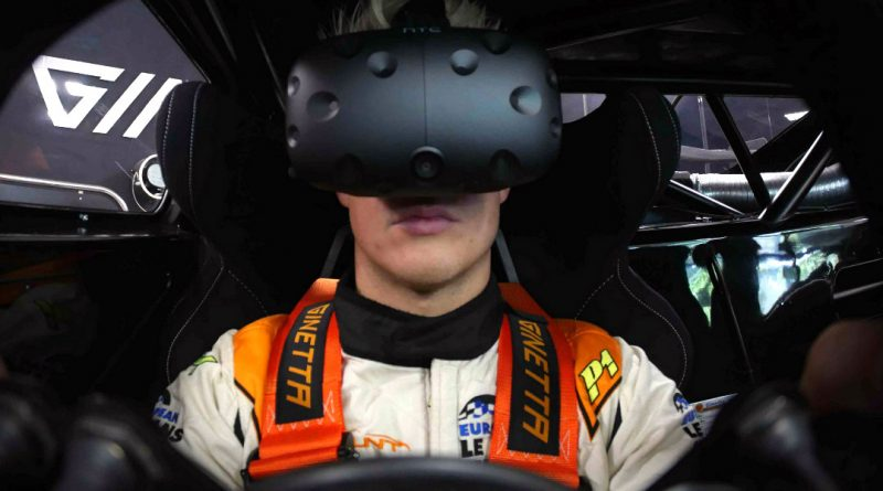 Ginetta VR Competition 2016 Cockpit