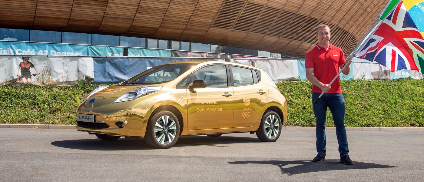 Nissan Turns over a New Gold Leaf