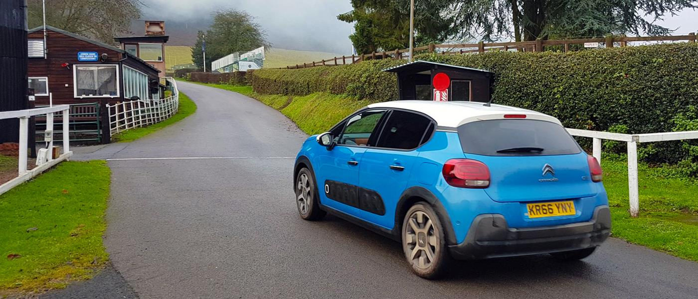 Tackling the Shelsley Walsh Hill Climb with the Citroen C3's ConnectedCAM