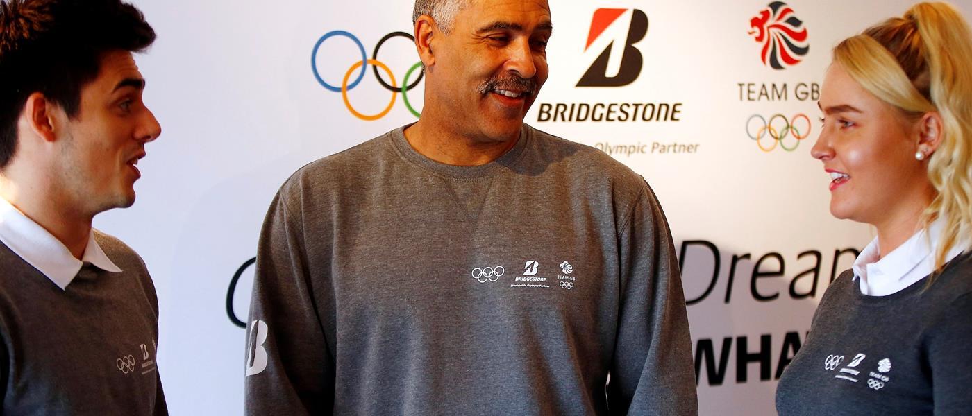 Bridgestone Add Olympic Rings to Its Range of Round Items