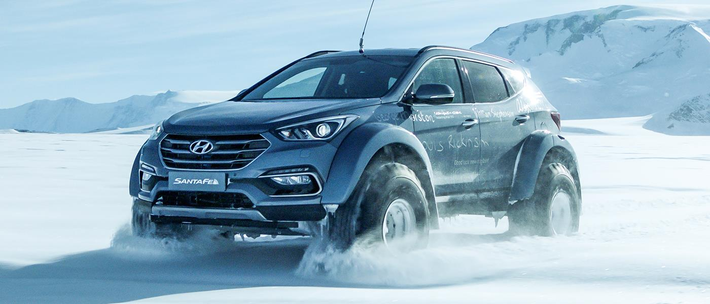 Hyundai's Antarctic Adventure: Following in Shackleton's Tyre Tracks