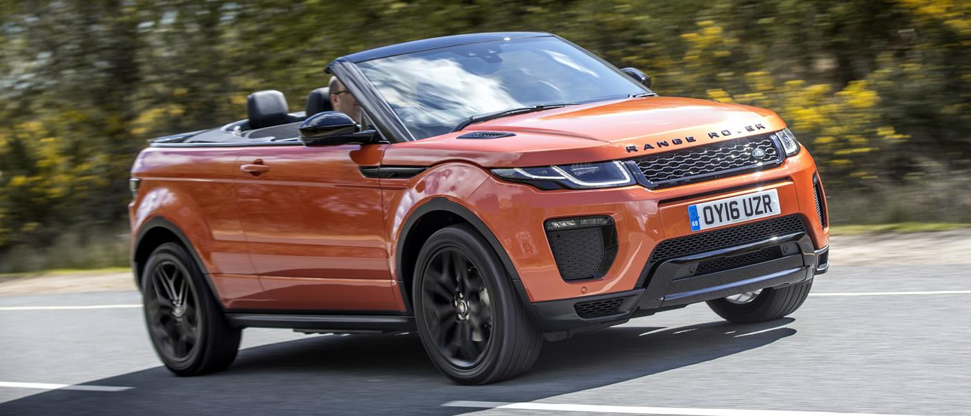 The Range Rover Evoque Convertible Isn't the First Soft Top SUV, but It's the Only Successful One