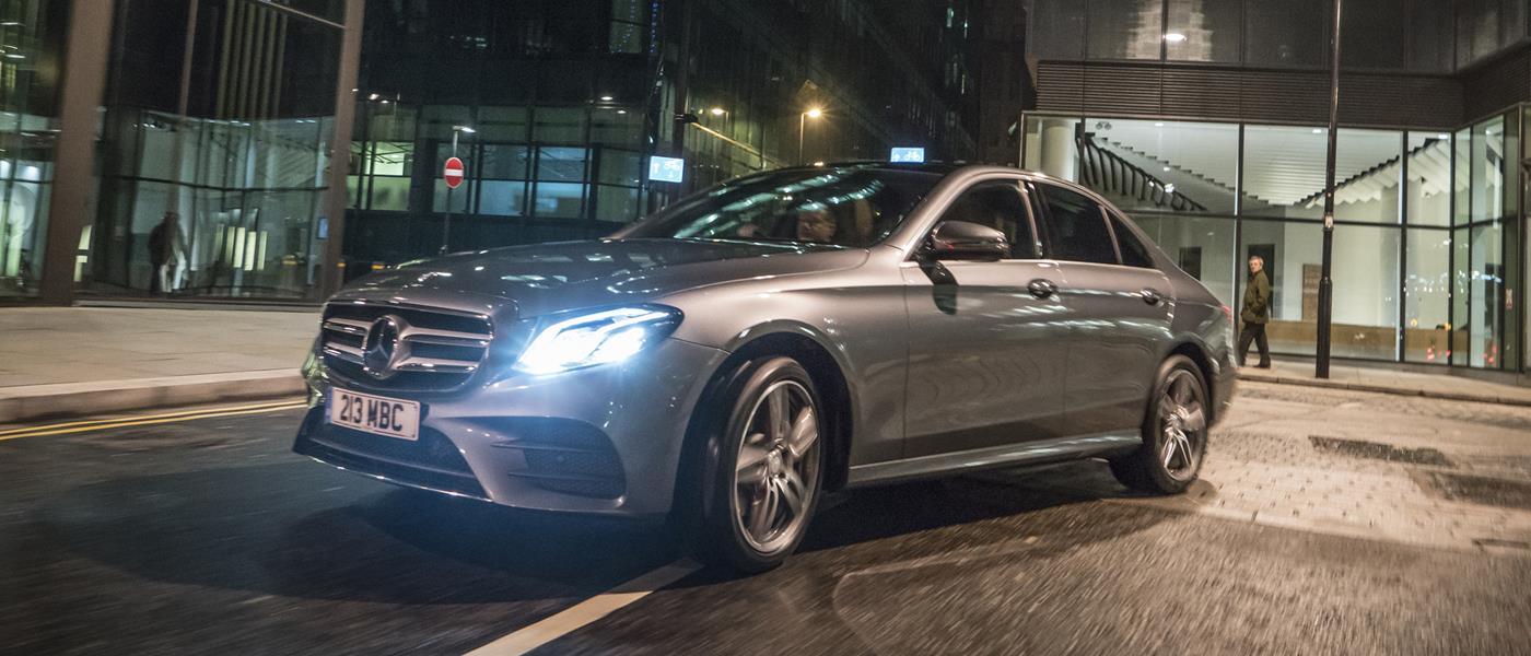 First Drive: Mercedes E-Class
