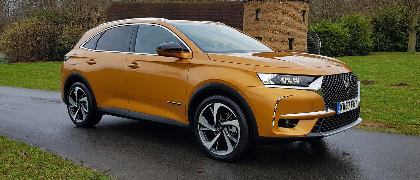 First Drive: DS 7 Crossback
