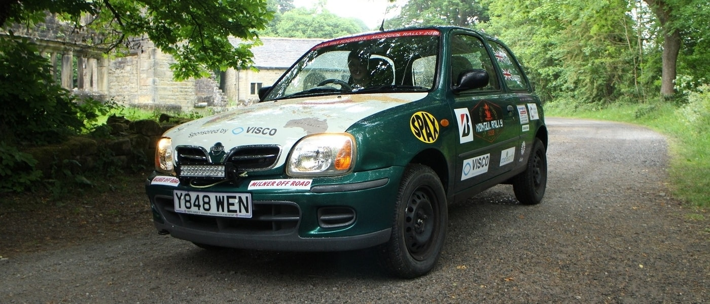 Melvin the Micra Motors to Mongolia