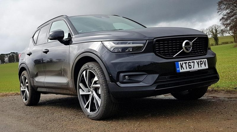 First Drive Volvo Xc40 Front Seat Driver