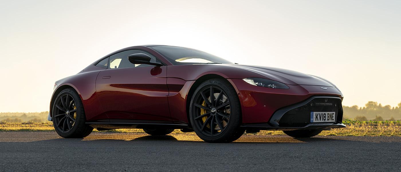 First Drive: Aston Martin Vantage