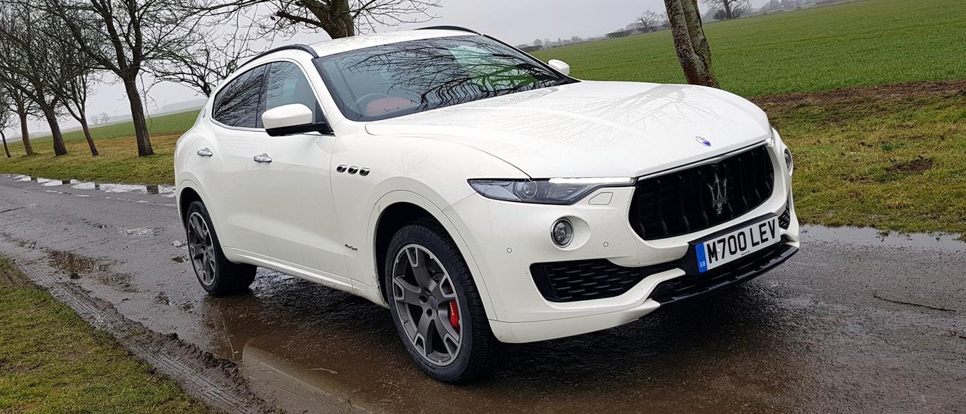 First Drive: Maserati Levante S