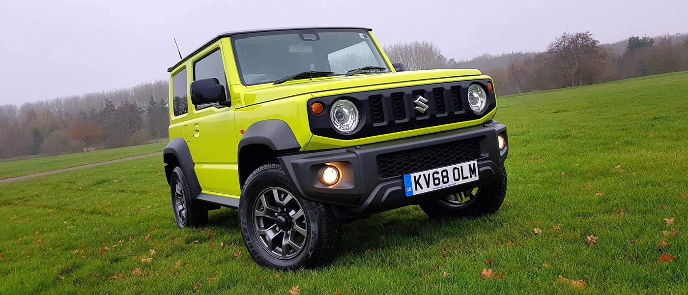 First Drive: Suzuki Jimny