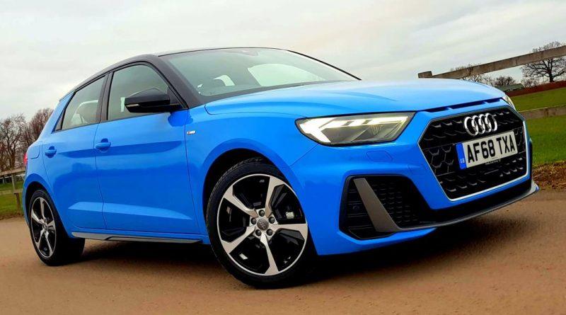 Driven Audi A1 Sportback Front Seat Driver