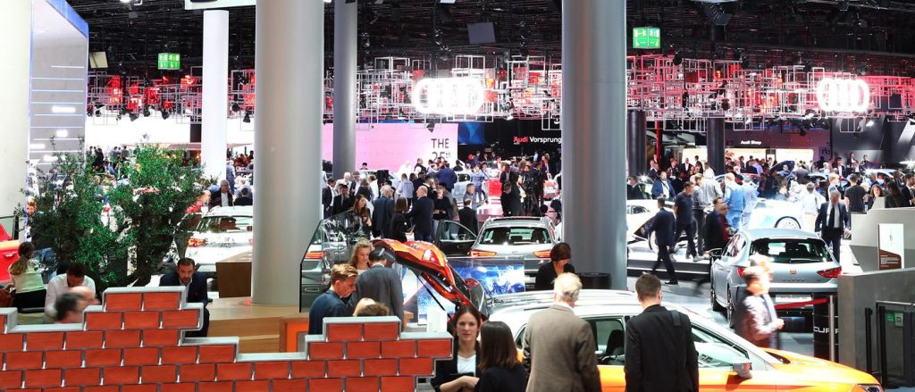 This is Frankfurt, but the Geneva Motor Show 2020 will look much the same.