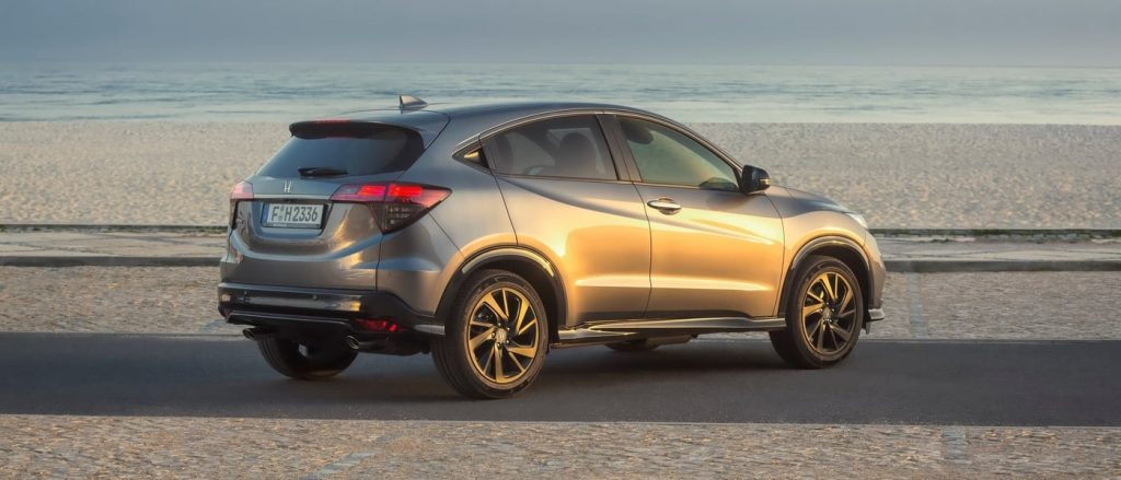 The Honda HR-V Sport is a handsome SUV