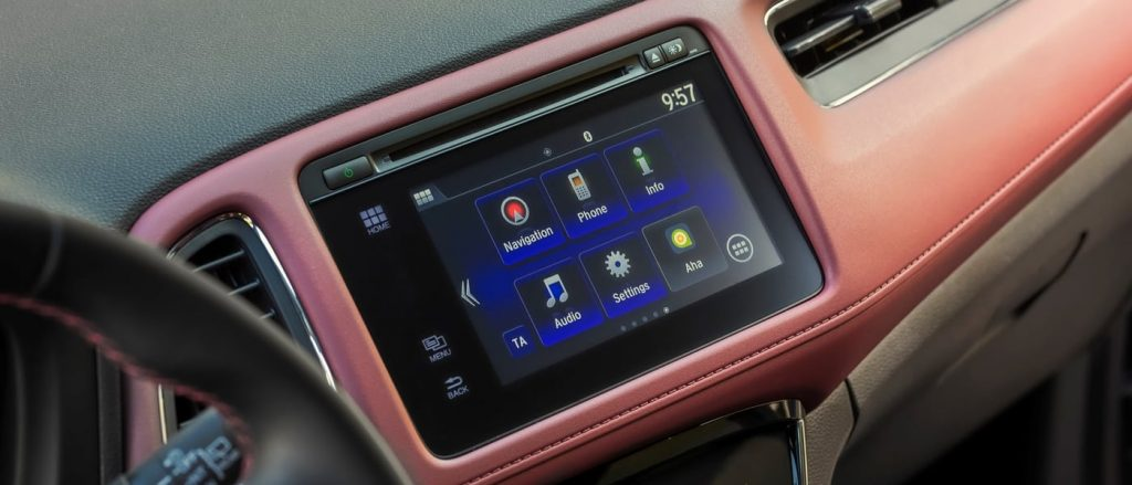 The infotainment system in the Honda HR-V Sport still needs work