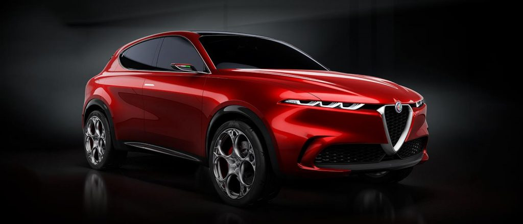 The first new cars 2020 is the Alfa Romeo Tonale SUV