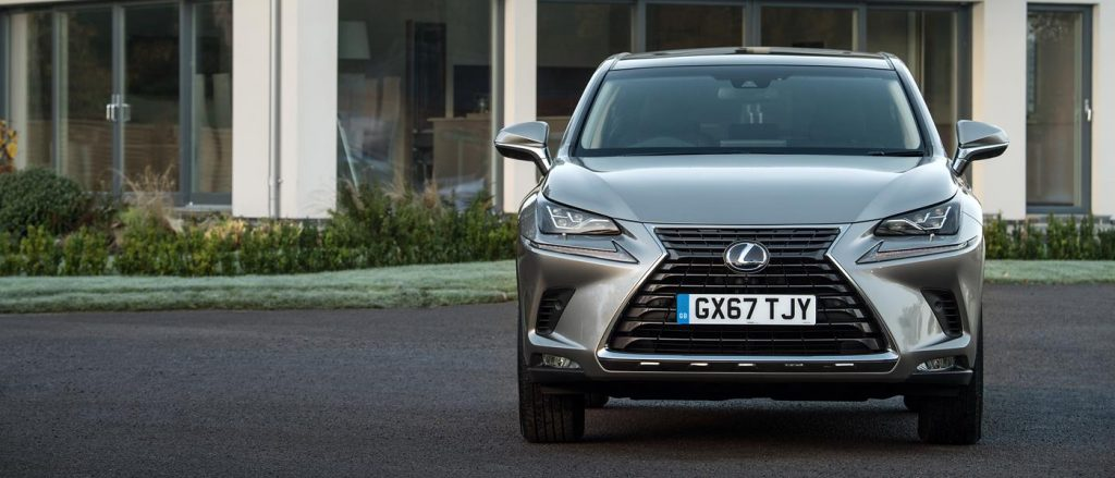 Straight lines and strong angles mark the Lexus NX out.