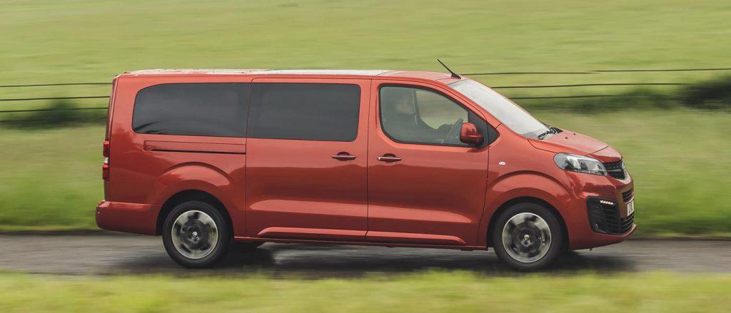 The Vivaro Life looks like a van but drives more like a car.