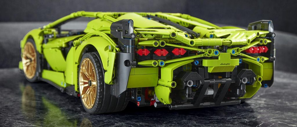 The Lego Lamborghini Sian