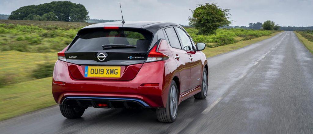 Nissan Leaf e+ rear