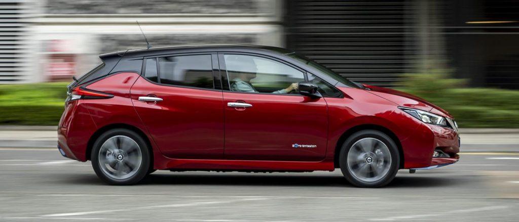 Nissan Leaf e+ profile