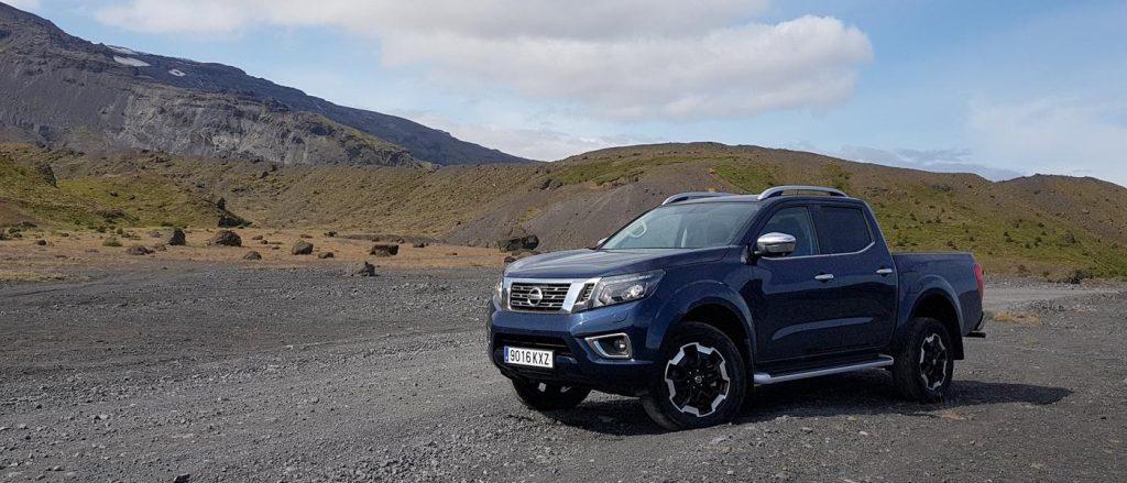 Nissan Navara in Iceland