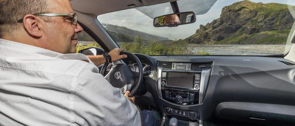 Nissan Navara driven by Phil Huff