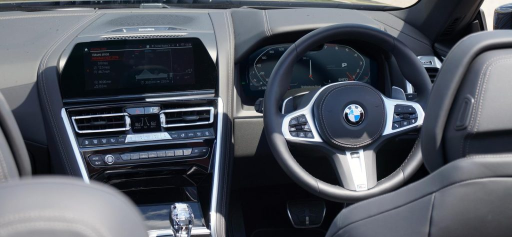 BMW 8 Series Convertible interior