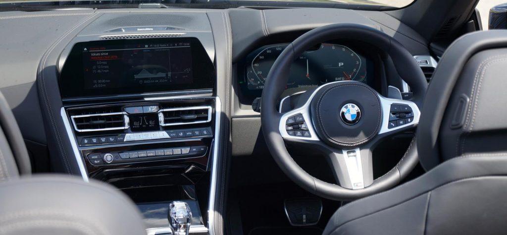 BMW 8 Series Convertible interior