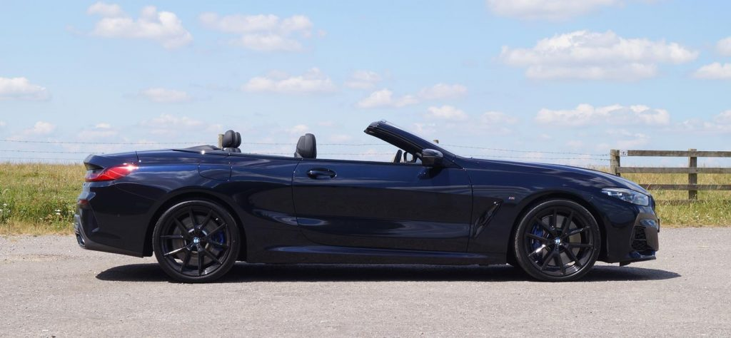 BMW 8 Series Convertible profile