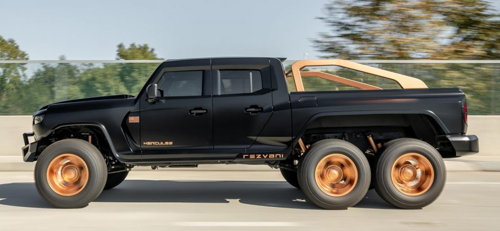 Rezvani Hercules 6x6 profile