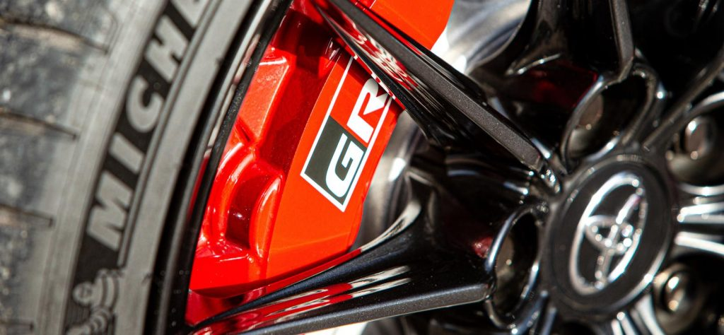 Toyota GR Yaris brakes