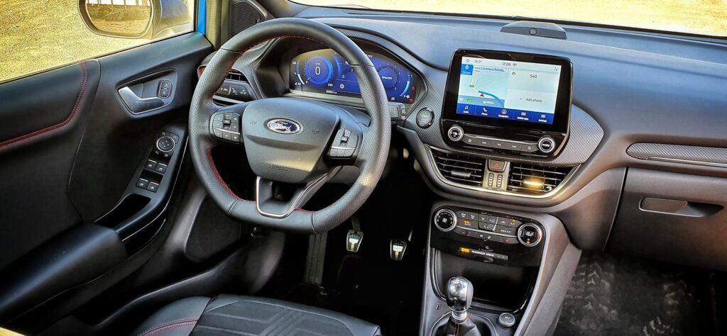 Ford Puma dashboard